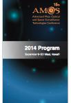 Screenshot 2014 AMOS Program