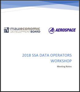 2018  AMOS International SSA Data Operator Exchange Workshop