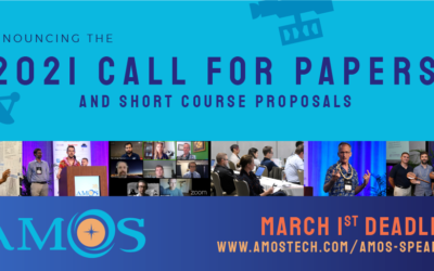 Call for Papers for AMOS 2021 – Due March 1